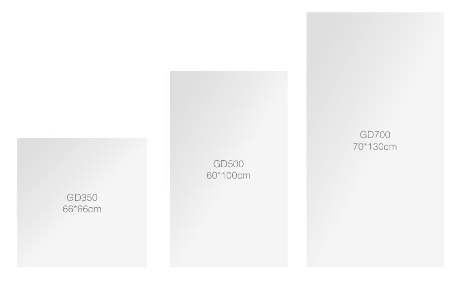 IC paneli stakleni veličine