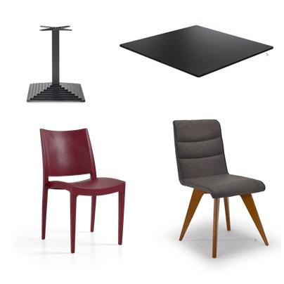 Stolice i stalak za stol